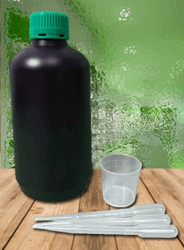 Botella negra 1000ml